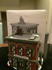 "New England Village Series Dept 56 ""Wood Bridge Post Office"""