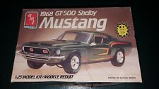 Ford Shelby 1968 Mustang GT 500 AMT 1 25 Model Kit Ertl Drag Partial Build