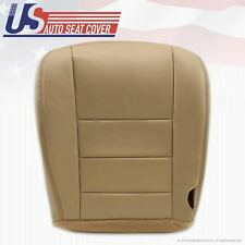 2002 - 2007 Ford F250 F350 Lariat Front Driver Bottom Leather Seat Cover TAN