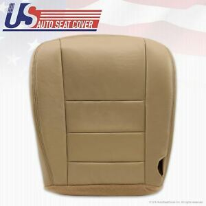 2002 -2007 Ford F250 F350 Super Duty Lariat Driver Bottom Leather Seat Cover TAN
