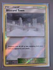 Blizzard Town   NM/M   Reverse Holo   SM Unified Minds 187/236   Pokemon