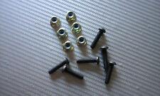 Go kart Sprocket bolt kit M6 12 pcs, includes flanged nylocs SUIT Tony CRG Arrow