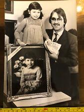 Tabloid Paper Original Press Photo 1982 £250 Winner Portrait Luton
