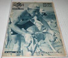 MIROIR SPRINT 635 1957 CYCLISME TOUR FRANCE ANQUETIL BAUVIN PRIVAT VAN EST