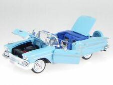 Chevrolet Impala 1958 - Lt Blue  Classic Model Car, Motormax