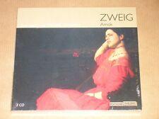 BOITIER 2 CD AUDIO LIVRE RARE / MICHAEL LONSDALE LIT AMOK DE STEFAN ZWEIG / NEUF