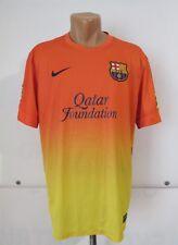 BARCELONA 2012/2013 AWAY FOOTBALL SHIRT CAMISETA JERSEY MAGLIA NIKE SPAIN FCB L