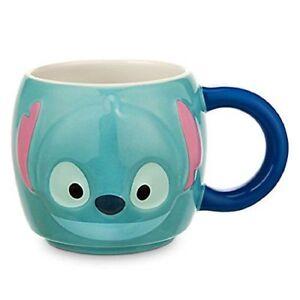 "Disney Store Authentic Stitch Tsum Tsum 3.75""H Coffee Tea Mug 16 oz."
