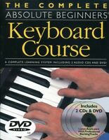 Complete Absolute Beginners Keyboard Course [New DVD]