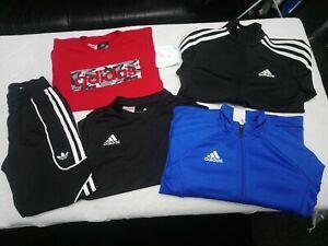 Boys ADIDAS sports bundle age 7-8 years bundle joblot hoody tshirt bottoms coat