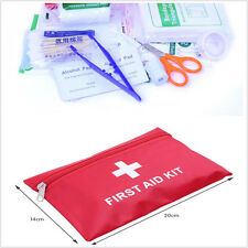 38 Piece Compact First Aid Belt Kit Bag FOR Small Travel Sports Home Office Car