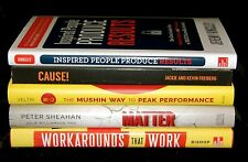 New LOT of 5 BOOKS Business Self-Help Motivational Goals Team Management Sales 7