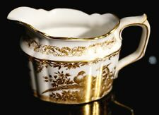 Beautiful Royal Crown Derby Gold Aves Creamer