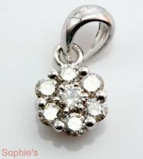 Diamond Cluster Fine Necklaces & Pendants