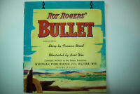 "Vintage 1953 ""Roy Rogers' Bulltet"" Softcover Book by Whitman - EX/NM Condition"