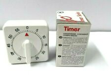 Salon / Kitchen Cooking Timer Countdown 60 Minutes Alarm Mechanical Time