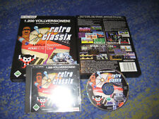 Retro Classix C 64 amiga ATARI 1200 Jeux pour PC Hot article NEUF Big Box Collector