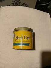 Vintage Black Cat tobacco tin