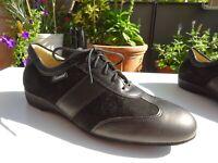DIAMANT 123 Damen Schuhe Tanzschuhe Leder Schwarz Germany Gr.40(UK7) Neuw