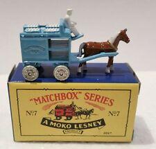 HORSE - DRAWN MILK FLOAT ~ Matchbox Recreation Originals ~ 1993 Limited Edition