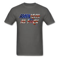 American AF Flag proud USA bald eagle Men's T-Shirt