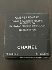 Chanel Ombre PremiÈRe 928 Cuir Brun Exclusive Eyeshadow New Limited Edition !