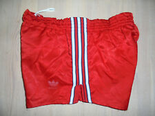 vintage german 70s Adidas shorts Sprinter Nylon 70er Jahre glanz shiny D5 M