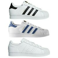 Adidas Originali Adolescenti Ragazzi Superstar Scarpe Sportive Taglia UK 3-5.5