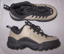 Oakley by SALOMON  Hiking Boots Sz 7 Womens 38 EU Tan Black Suede EUC