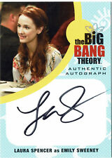 Big Bang Theory Seasons 6 & 7 Autograph Card LS1 Laura Spencer as Emily Sweeney