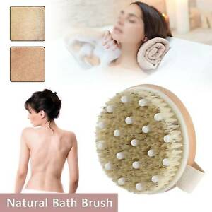 Full Body Natural  Brushes Bath Skin Exfoliation Brush Cellulite Shower Relax