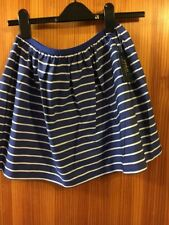 Girls Ralph Lauren Pink Skirt Size 12-14 Years New Tags Sailor Skirt Blue Stripe