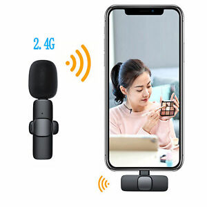1 Set Lapel Microphone Exquisite Compact Easy Operation Convenient for Recording