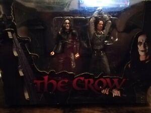 The Crow - Eric Draven vs Top Dollar DIORAMA 2-Pack Figur-Set (Neca) BRANDON LEE