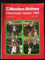 1983 CHAMINADE CLASSIC FRESNO/HOUSTON COUGARS/UNIV. OF LOUISVILLE NCAA PROGRAM