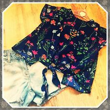 Girls Lovely Floral Top/blouse. Aged 6/7yrs. Brand New