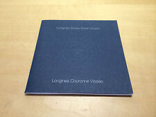 Booklet LONGINES Screw-Down Crown - All languages - For Collectors
