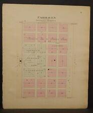 Missouri Vernon County Map Fairhaven Township 1903 L10#91
