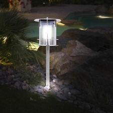 Gartenleuchtpfosten,Kugelspitze,50cm,Aluminimum schwarz,Wegbeleuchtung