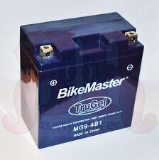 New Bike Master TruGel Battery MG9-4B1 Tru Gel 2Yr Wrnty YB9-B 12N9-4B-1 78-0543
