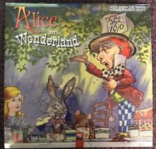 Alice In Wonderland Wall Calendar 2019