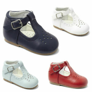 NEW BOYS SHOES PATENT-MATT LEATHER T BAR TRADITIONAL /SPANISH/PARTY SIZES 2-10