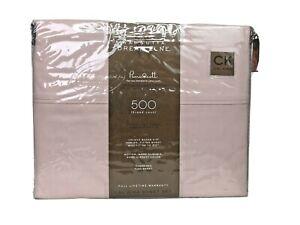 Wamsutta Dreamzone Supima Cotton 500 TC Percale Cool & Crisp Cal King Blush/Pink