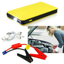 Portable Mini Slim 12V 6000mA Car Jump Starter Engine Battery Charger Power Bank