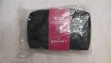 Sealed Delta Tumi Amenities Bag