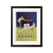 Chanel No. 5 x Andy Warhol Graffiti Pop Art Poster Print