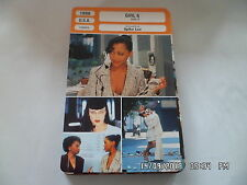 CARTE FICHE CINEMA 1996 GIRL 6 Theresa Randle Isaiah Washington Spike Lee