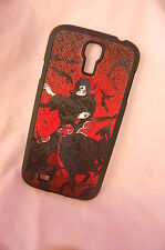 Samsung Galaxy S4 case Anime leather Phone case Naruto Uchiha Itachi