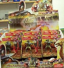 Lot Toy Medieval Knight Figures at War Wholesale 18 Pc Deal 95330
