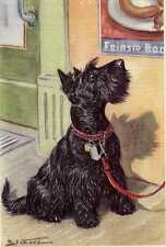 Scottish Terrier - Matted Dog Art Print - German / New U